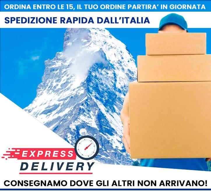 spedizioni espresse dall'italia