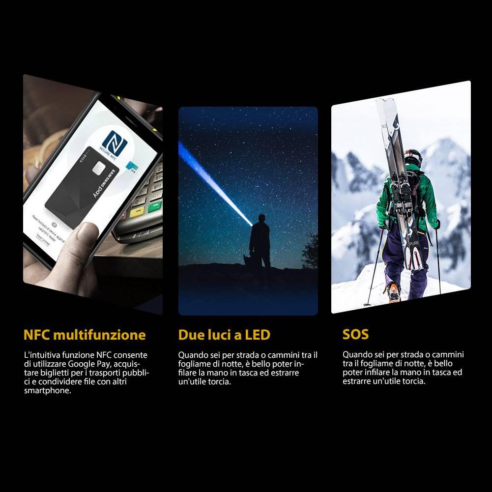 tasti NFC E SOS