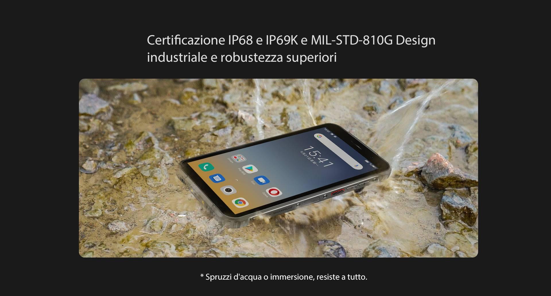certificazione ip68-ip69K