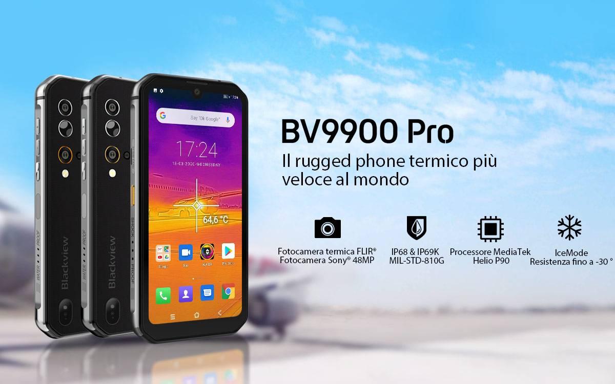 bv9900 pro rugged phone termico