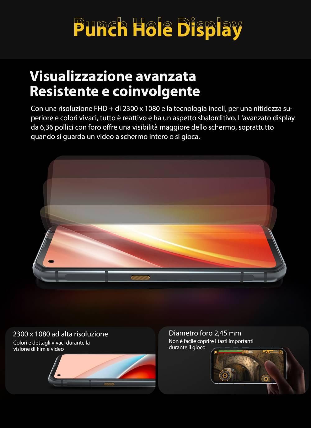 batteria 5280mah bl6000 pro
